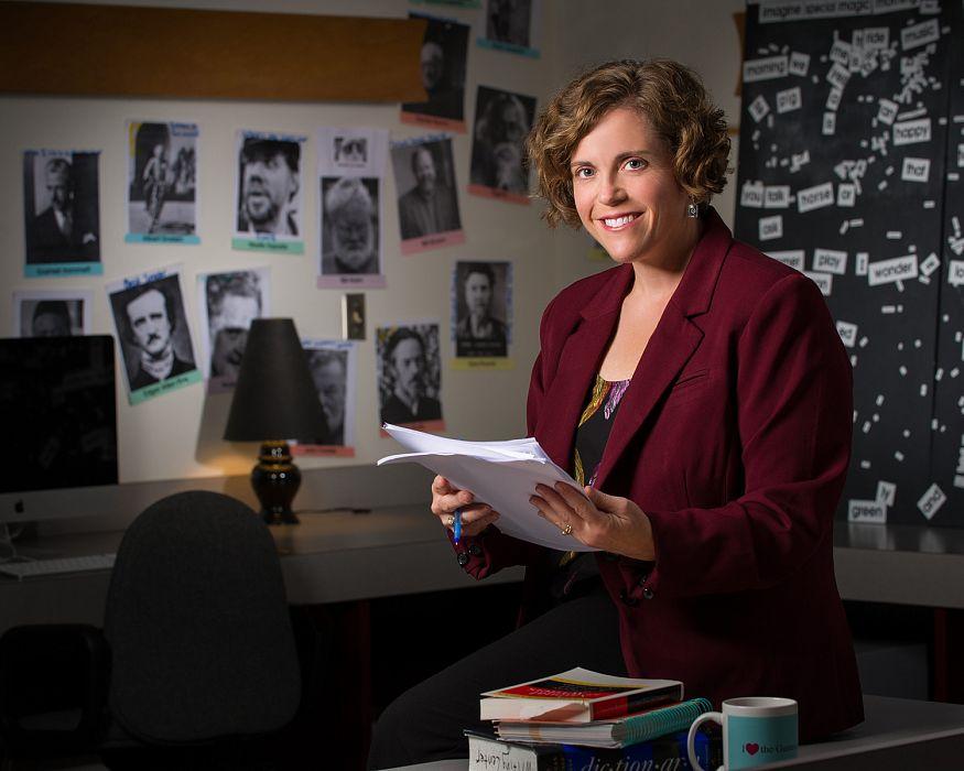 2013 Carlson Award Winner, Rebecca Fremo, English Department
